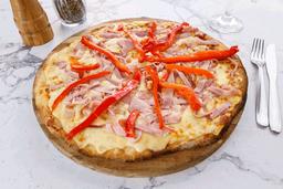 Pizzeta Jamón y Morrón