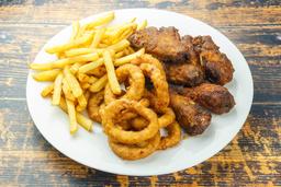 Chicken Wings con Guarnición