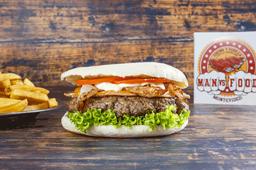 Philadelphia Burger con Guarnición