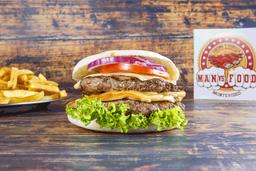 Burger Hot Houston con Guarnición