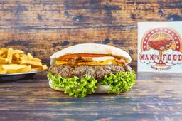 Burger Kentucky con Guarnición