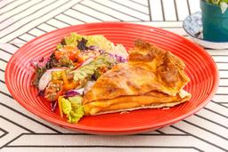 Tarta Jamón y Queso Dambo + Ensalada