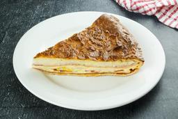 Tarta Napolitana con Salsa Bechamel