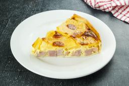 Tarta de Jamón y Ananá