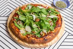 Pizzeta Muzzarella y Nueces
