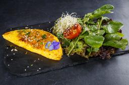 Omelette + Guarnición de Ensalada