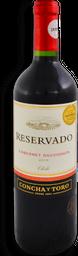 Vino Tinto Concha y Toro Cabernet Sauvignon Reservado 750 mL