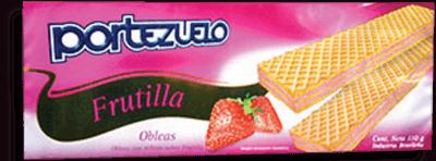 Oblea Frutilla Portezuelo 110G