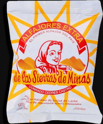 Alfajor De Chocolate Sierra De Minas - Pq .06 Kg