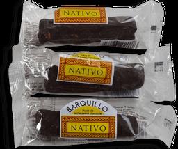 Barquillo Bañado Nativo Rell. Dulce De Leche 30G