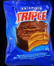 Alfajor Triplechocolate Portezuelo - Pq .06 Kg