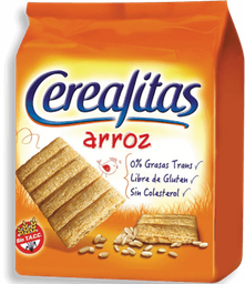 Galletas Cerealitas Arroz 160 g
