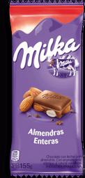 Chocolate Milka Almendras Enteras 155 g