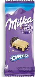 Chocolate Blanco Milka Oreo 155G