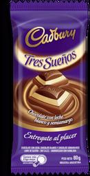 Choco Cadbury Tres Sue�os X 80