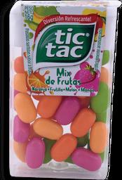 Pastillas Tic Tac Mix De Frutas Cj 16G