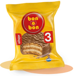 Alfajor Bon O Bon Triple Arcor