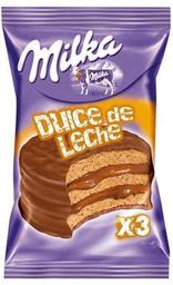 Alfajor Dulce De Leche Triple Milka - Pq .070 Kg