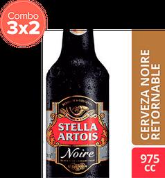 Cerveza Stella Artois Noire Bt 975Ml