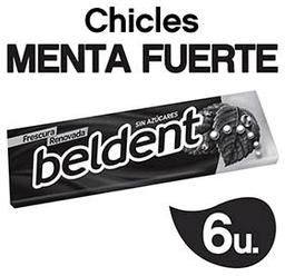 Chicle Menta Fuerte Beldent - Pq .01 Kg