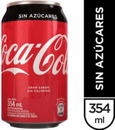 Refresco Coca Cola Zero - La .354 Lt