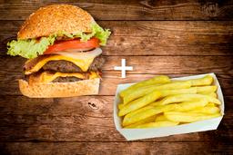 MBC burger XL + Papas Fritas GRATIS