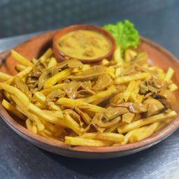Porción de Fritas con Champi