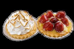 2 tartaletas dulces a elección