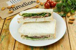 Sandwich De Jamón Crudo