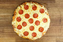Pizzeta Muzzarela con Pepperoni - 32 cm