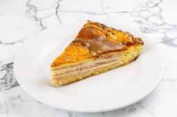 Torta de Jamón y Queso