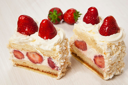 Cassata de Frutillas y Chantilly