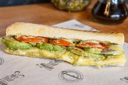 Sándwich Veggie Avocado