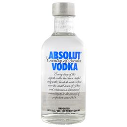Vodka Absolut Petaca