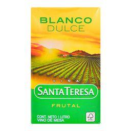 Vino Blanco Dulce De Mesa Sta Teresa- Cj 1 Lt