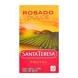 Vino Rosado De Mesa Dulce Sta Teresa- Cj 1 Lt