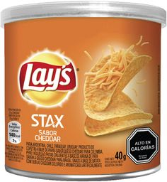 Papas Fritas Lays Stax Queso 40Gr
