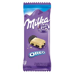 Chocolate Milka  Blanco Oreo 155G