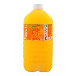 Jugo Dairyco Naranja C/Pulpa  3 Lt