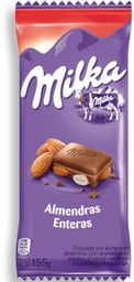 Chocolate Milka Almendras 155 Grs.