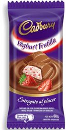Chocolate Cadbury Yogur / Frutilla 80 Grs.