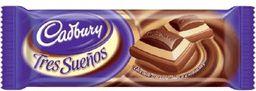 Chocolate Cadbury Tres Sue�os 160 Grs.