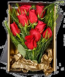 9 Rosas Rojas