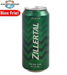 Cerveza Zillertal Lata 473ML
