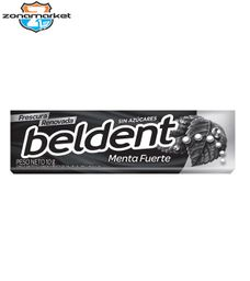 Chicle Beldent Menta Extra Fuerte 10G