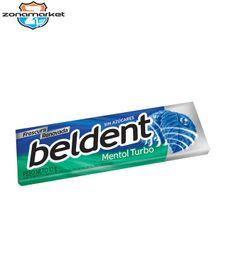 Chicle Beldent Mentol Turbo 10G