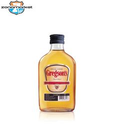 Whisky Gregsons Petaca 200ML