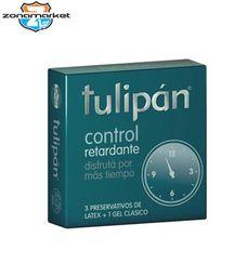 Preservativo Tulipan Control Retardante 3 UN