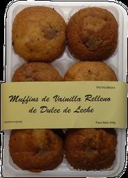 Industria Uruguaya Muffins Vainilla Relleno