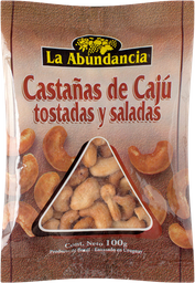 La Abundancia Castanas Caju To/Sal